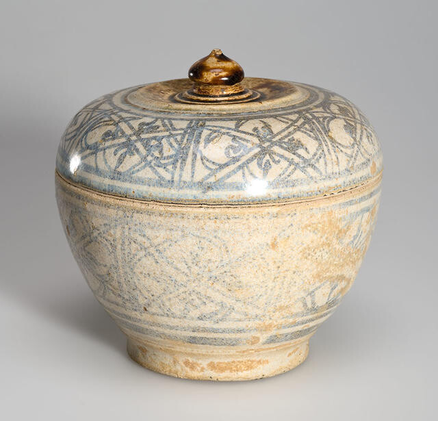 Large Covered Pot