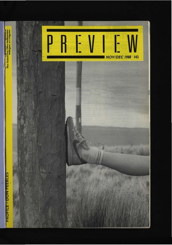 Canterbury Society of Arts Preview, number 143, November/December 1988