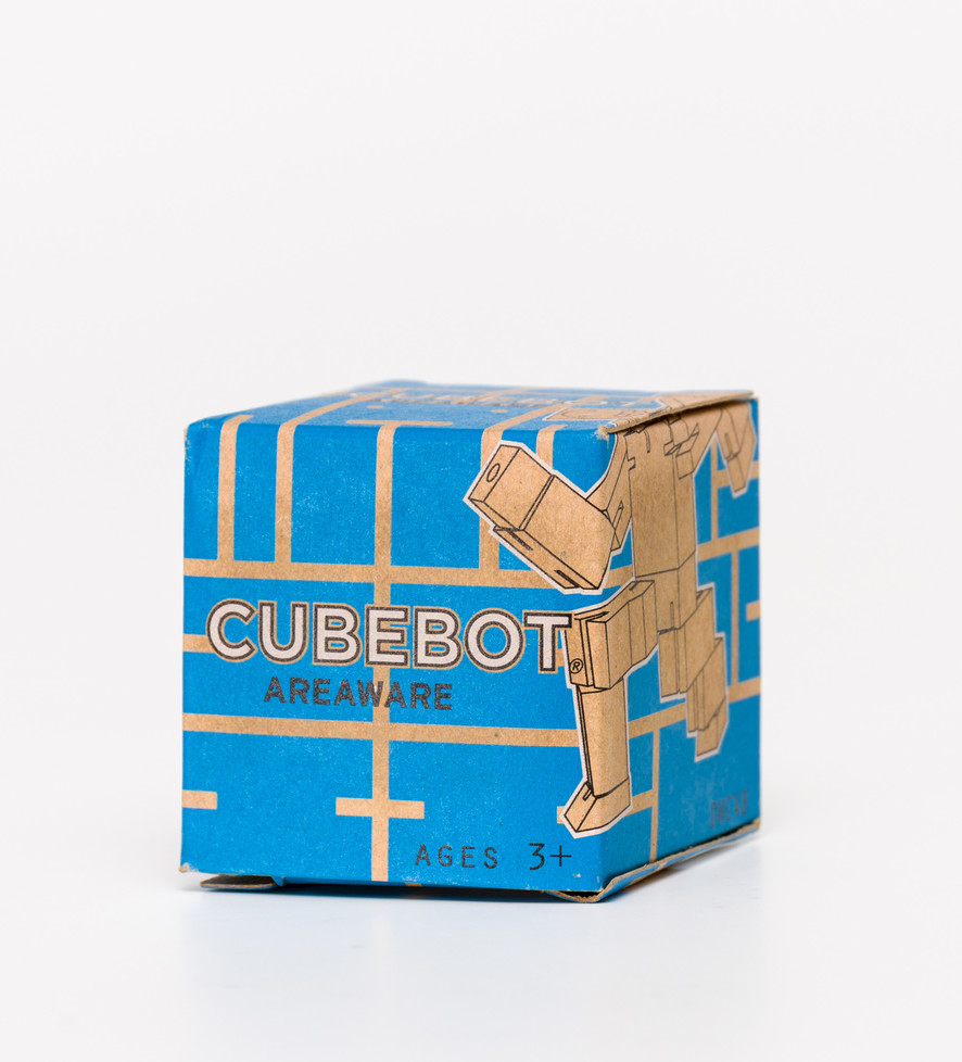 Cubebot Micro Blue Toy