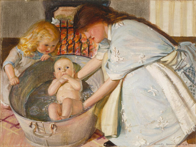 Bathing The Baby