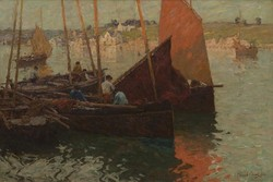 Evening, Concarneau by Terrick John Williams