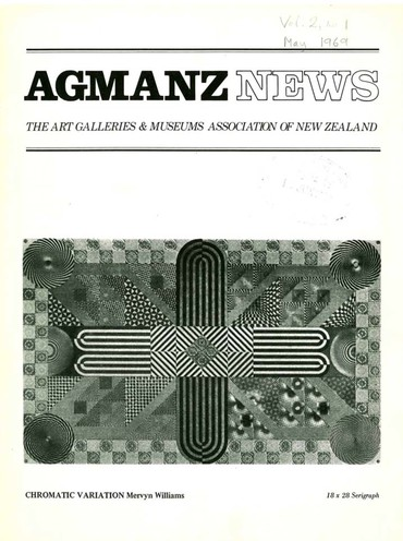 AGMANZ News Volume 2 Number 1 May 1969