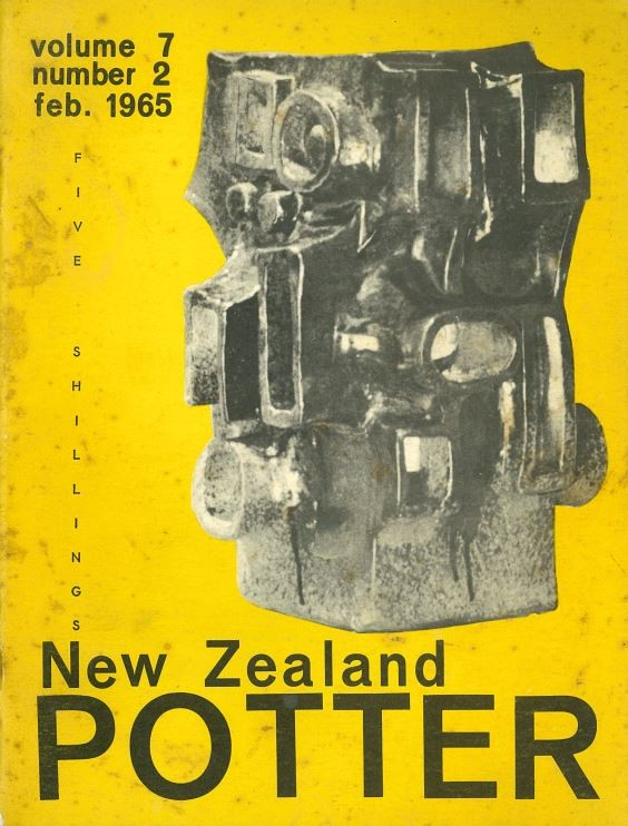 New Zealand Potter volume 7 number 2, February 1965