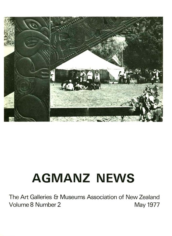 AGMANZ News Volume 8 Number 2 May 1977