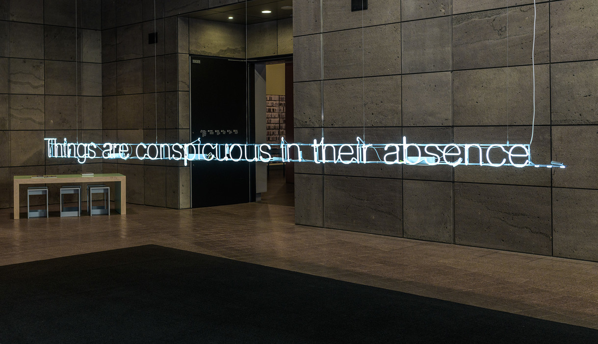 Cerith Wyn Evans: Things are Conspicuous in their Absence...