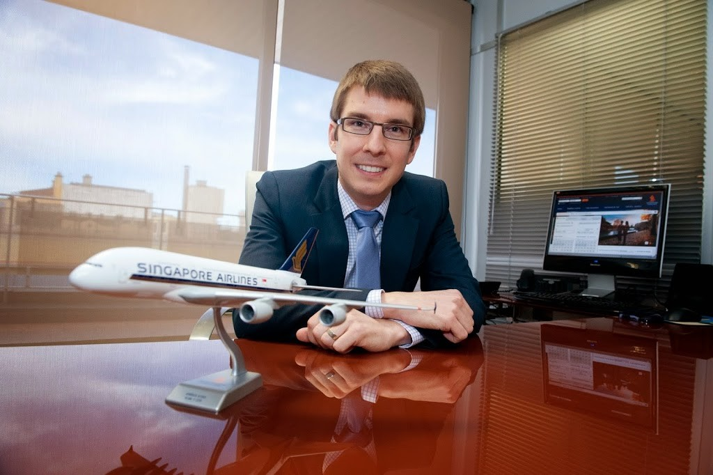 Simon Turcotte, GM of Singapore Airlines New Zealand