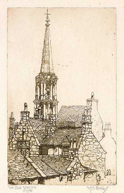 The Old Steeple, Ayr