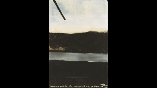 Colin McCahon - Tomorrow will be the same but not as this is