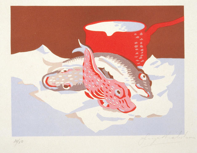 Fish And Red Pot