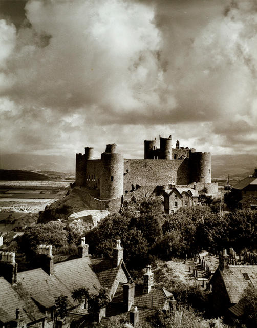 Harlech Castle, Merioneth, Wales