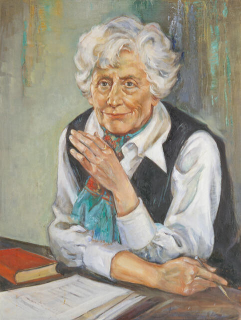 Portrait Of Ngaio Marsh
