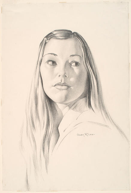 Portrait Of A Girl 'Sue'
