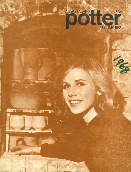 New Zealand Potter volume 10 number 2, Spring 1968