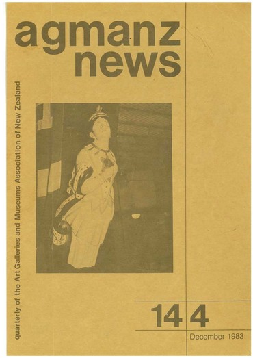 AGMANZ News Volume 14 Number 4 December 1983