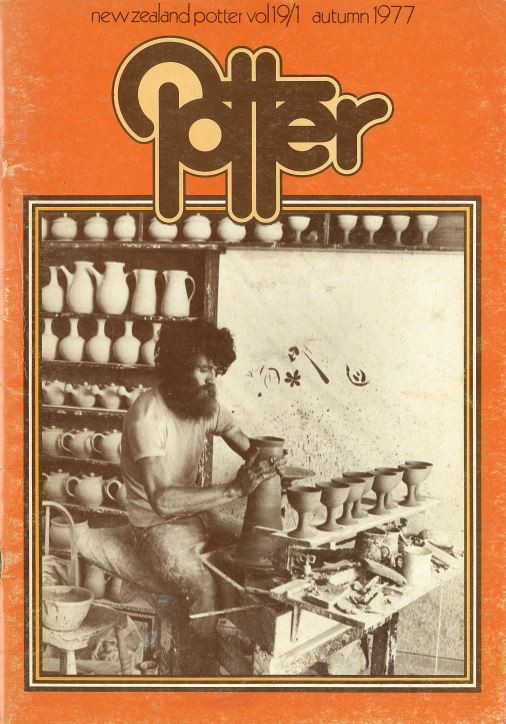 New Zealand Potter volume 19 number 1, Autumn 1977