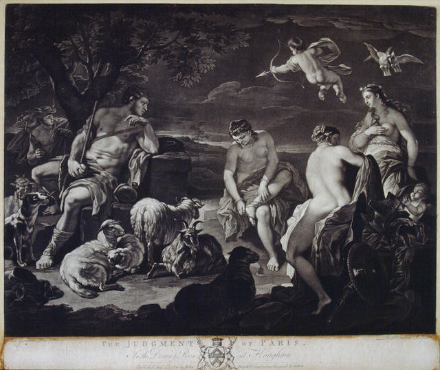 Judgement Of Paris (In The Drawing Room At Houghton)