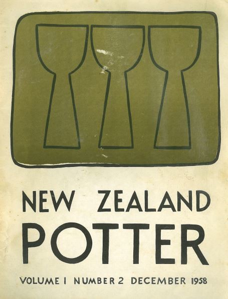 New Zealand Potter volume 1 number 2 December 1958