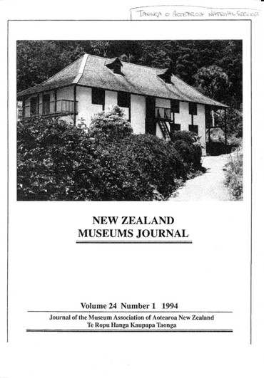 NZMJ Volume 24 Number 1 Winter 1994