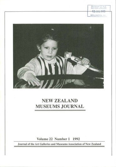 NZMJ Volume 22 Number 1 Winter 1992