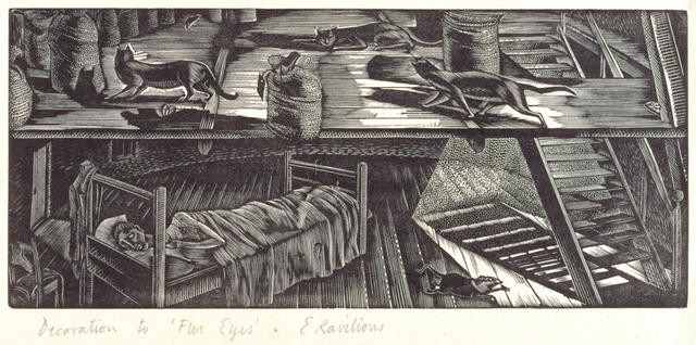 Five eyes by Eric Ravilious