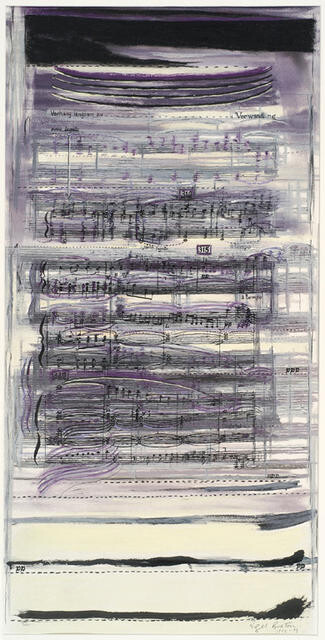 "Study for ""Madness at Dusk"" from Wozzeck by Alban Berg"