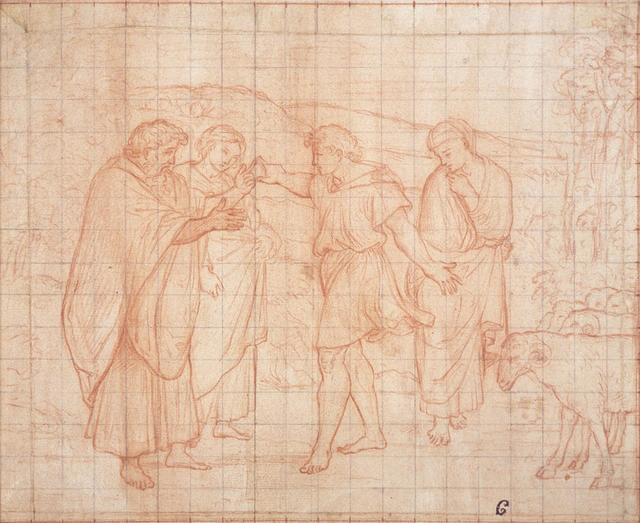 Preparatory Drawing For A Fresco