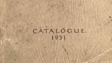 CSA catalogue 1931