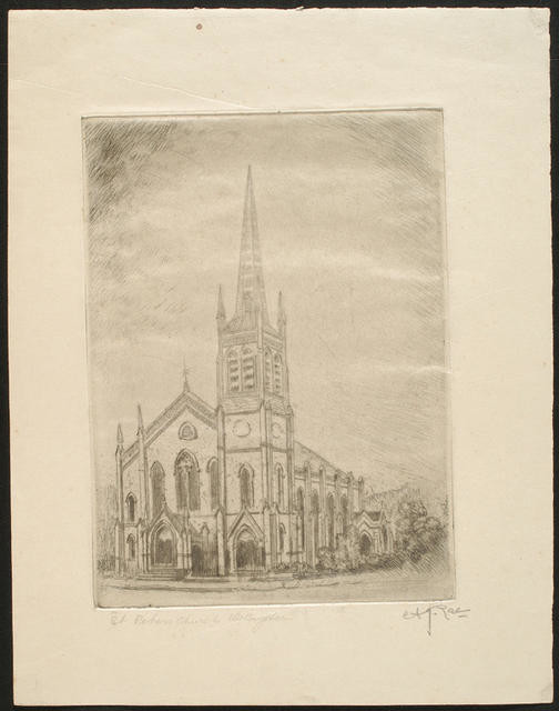 St Peter's Church, Wellington (Upper Willis Street)