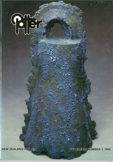 New Zealand Potter volume 34 number 1, 1992