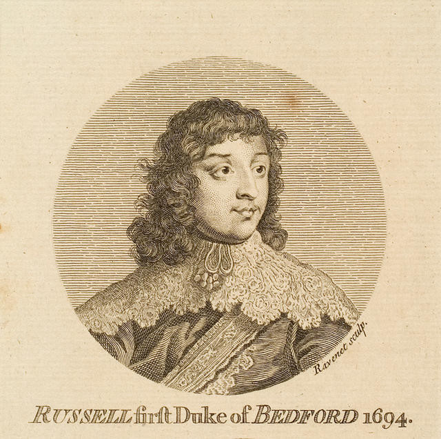 Russell first Duke of Bedford 1694