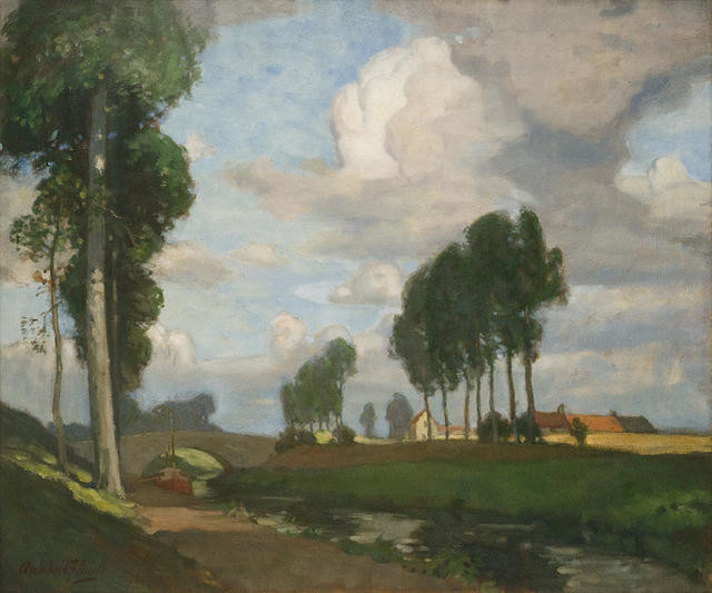 A Flemish Waterway