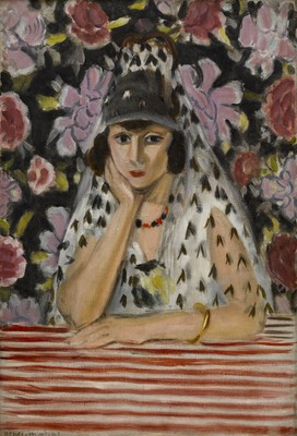 Henri Matisse Espagnole (buste) (The Spanish Woman) 1922. Oil on canvas. Promised gift of Julian and Josie Robertson