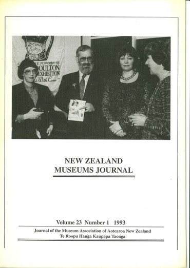NZMJ Volume 23 Number 1 Winter 1993