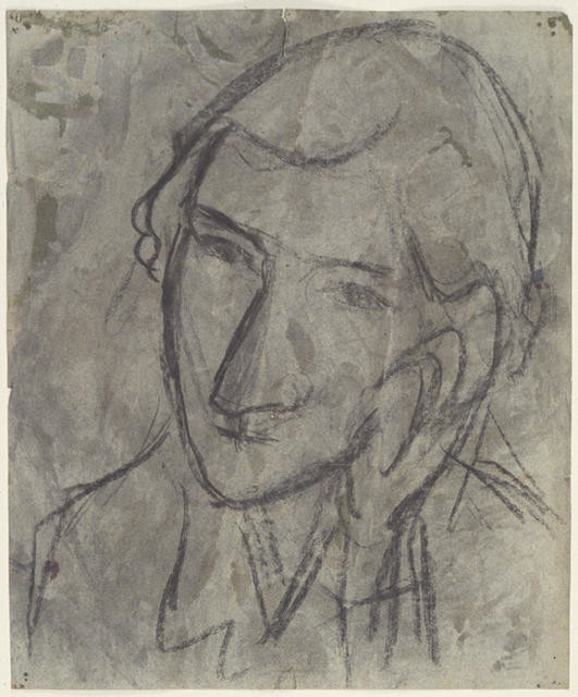 Portrait sketch of Mary Ursula Bethell