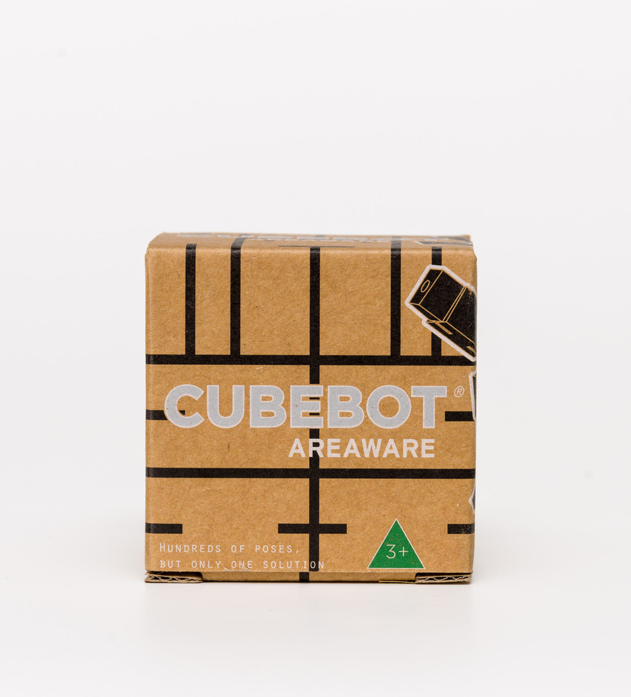 Cubebot Small Black Toy