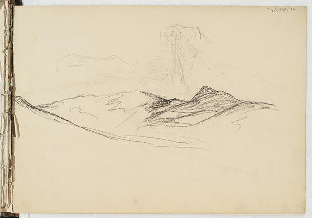 Untitled (Sketch Book 3 - Sumner, Lyttelton & Port Chalmers)