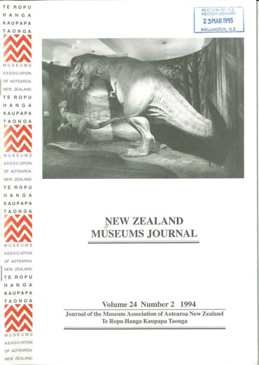 NZMJ Volume 24 Number 2 Summer 1994