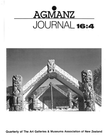 AGMANZ Journal Volume 16 Number 4 December 1985