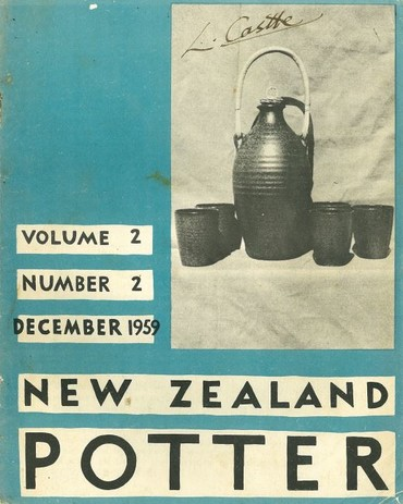 New Zealand Potter volume 2 number 2, December 1959