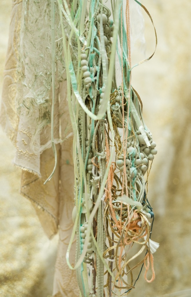 Sian Torrington How you have held things (detail) 2013. Salvaged materials. Image: John Collie.