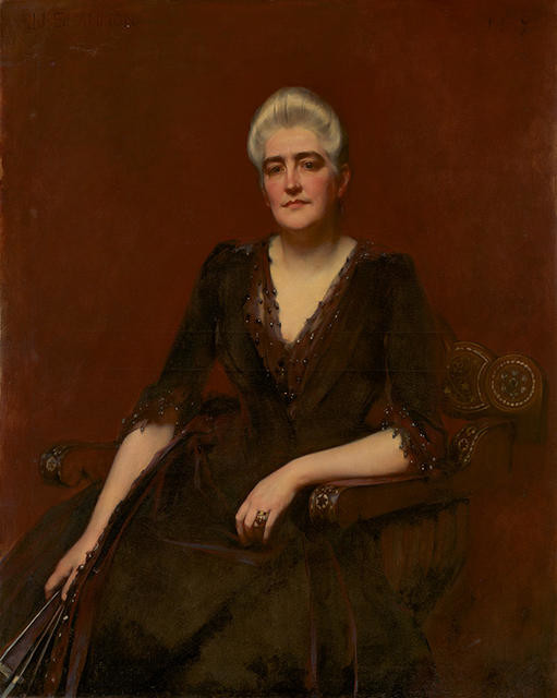 Portrait of Mrs Graham