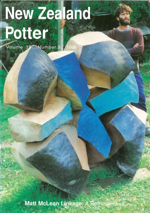 New Zealand Potter volume 38 number 3, 1996