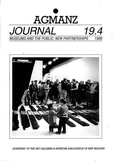 AGMANZ Journal Volume 19 Number 4 1988