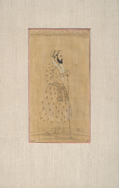 Untitled (Standing Portrait of a Maharaja)