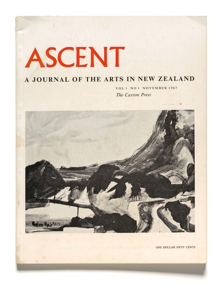 Ascent: A Journal of the Arts in New Zealand, vol.1, no.1, November 1967, The Caxton Press, Christchurch