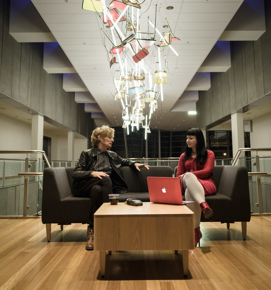 J.G. Thirlwell  interviewed by Jo Burzynska, 2016