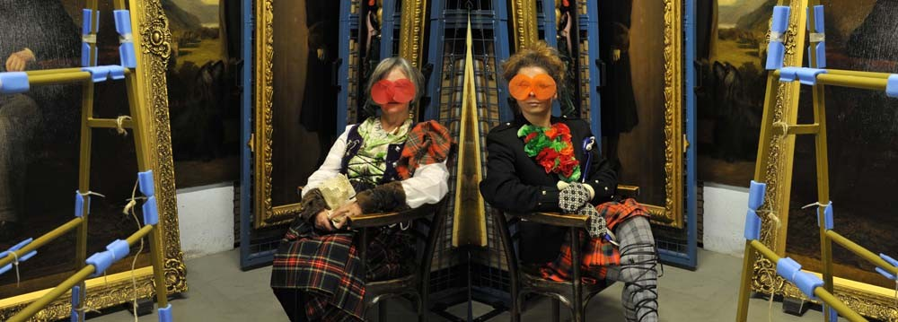 Edwards + Johann at Perth Museum and Art Gallery, Scotland 2010. Courtesy of the artists