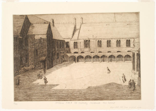 Untitled (Inner Quadrangle And Cloisters)