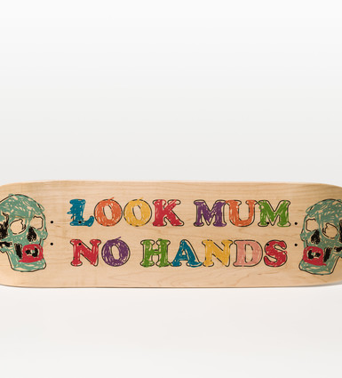 Look Mum No Hands: Skateboard