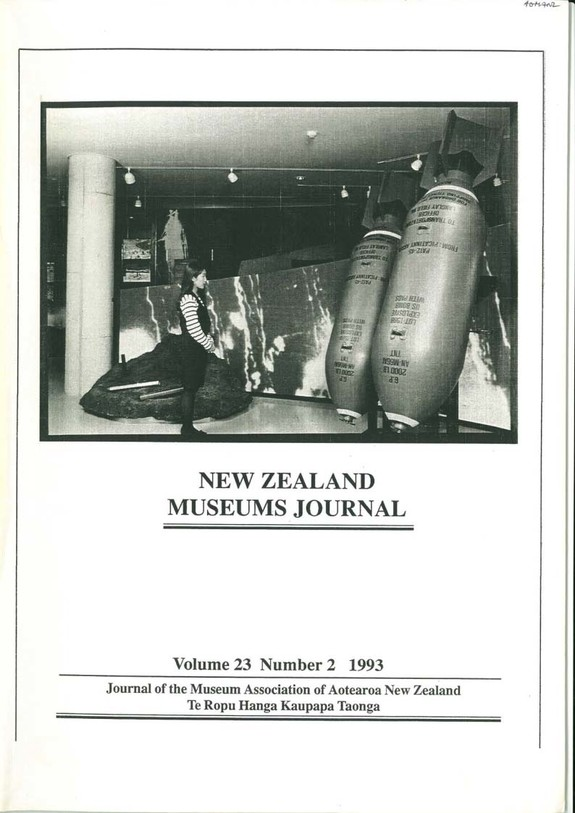 NZMJ Volume 23 Number 2 Summer 1993